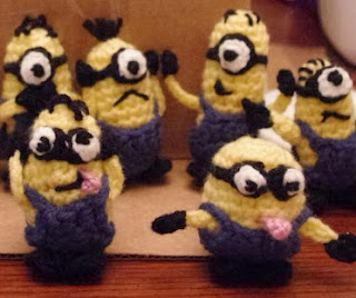 http://www.ravelry.com/patterns/library/minions-minions-everywhere