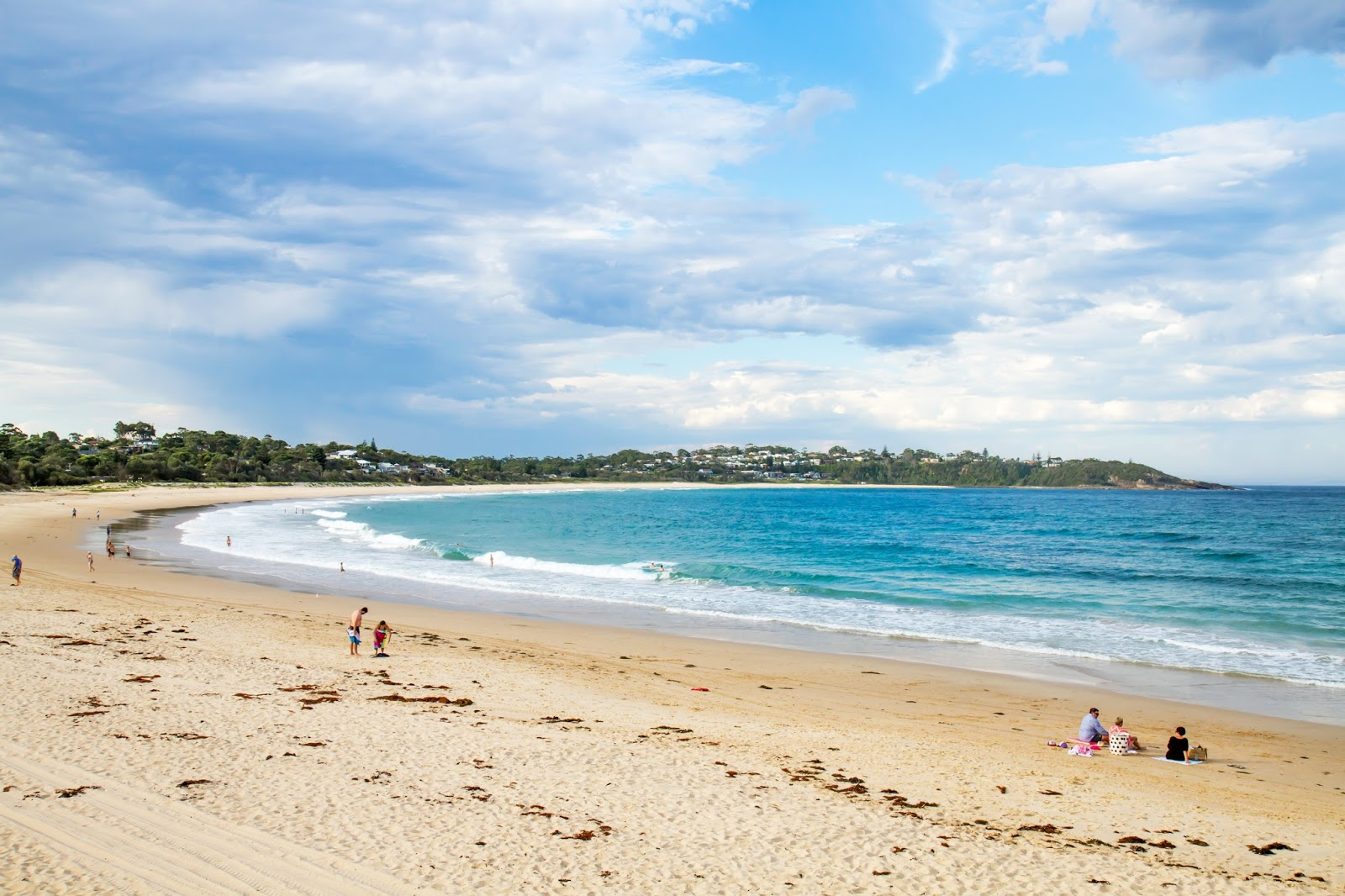Beautiful Mollymook Beach in NSW, Australia
