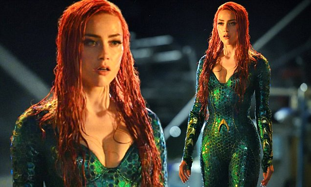 Mera Aquaman Sexy Main Actress Cleavage