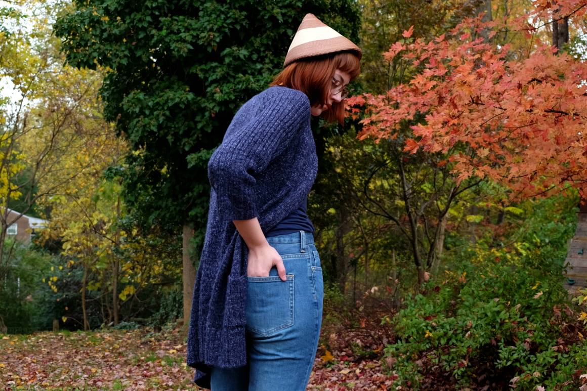 ethical fall style with lots of secondhand and thrifted finds stylewise-blog.com