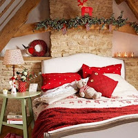 Decoración habitación navideña