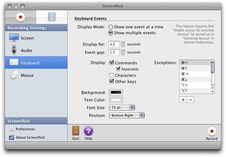 Software Perekam Video Komputer Screenflick