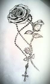 Griffe Tattoo So Rosas Para Tatuagens Feminina
