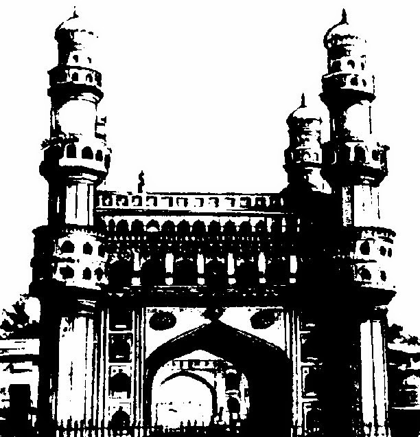 CLIP ARTS AND IMAGES OF INDIA: Monuments Of India Line