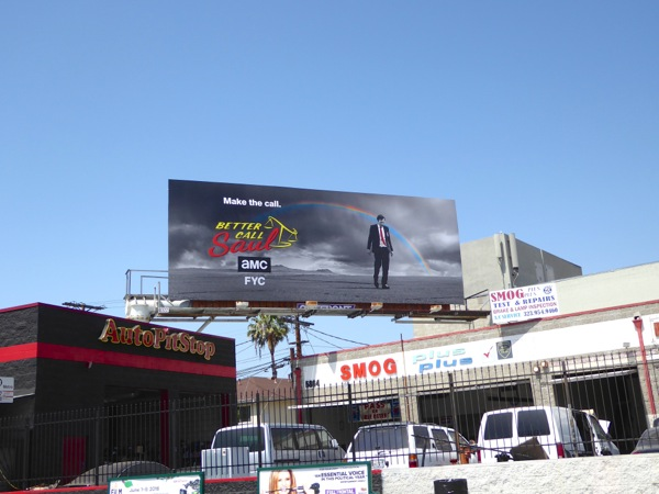 Better Call Saul 2016 Emmy consideration billboard