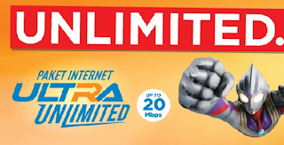Paket Internet Bolt! Pasca Bayar Ultra Unlimited