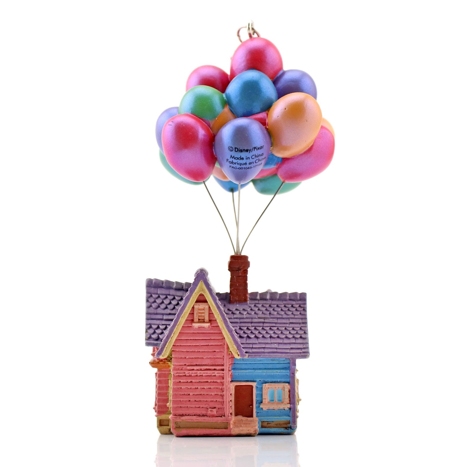 pixar up house disney store sketchbook ornament