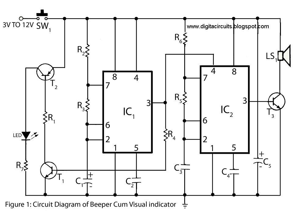 reverse buzzer wiring diagram 12v buzzer wiring diagram