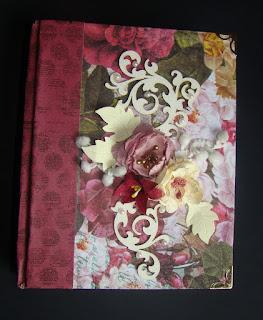скрап,альбом,миник,фотоальбом,цветы,самодельные цветы,переплет,пионы,чипборд,вырубка