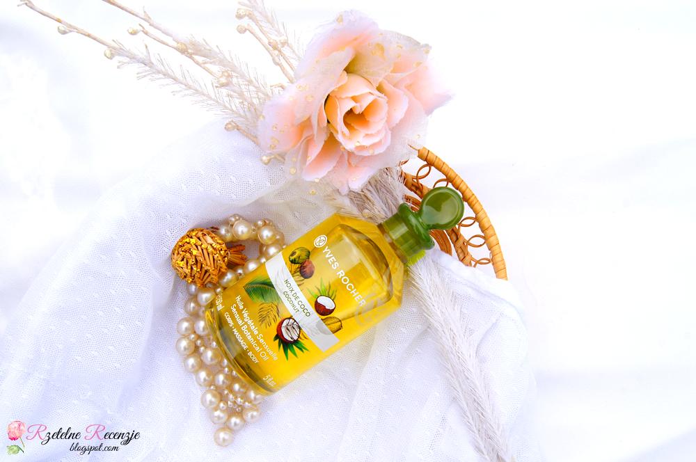 Zaktualizowano Rzetelne Recenzje: Yves Rocher - Zmysłowy olejek do masażu kokos RU32