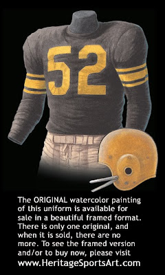 Pittsburgh Steelers 1960 uniform