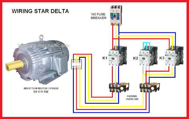 Star Delta Y Motor Connection Diagram on power factor correction circuit diagram