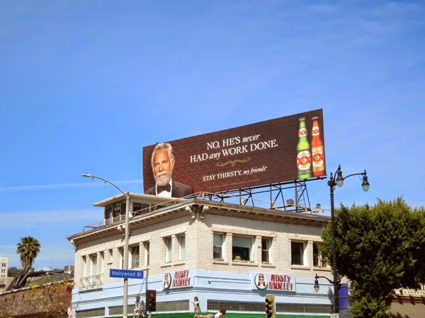 Dos Equis No work done billboard