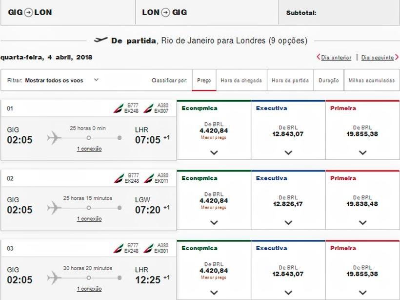 Onde e como comprar passagens aéreas baratas - Emirates