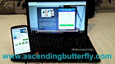 American Well, Amwell, Telehealth, Healthcare, Wellness, Laptop, Smartphone