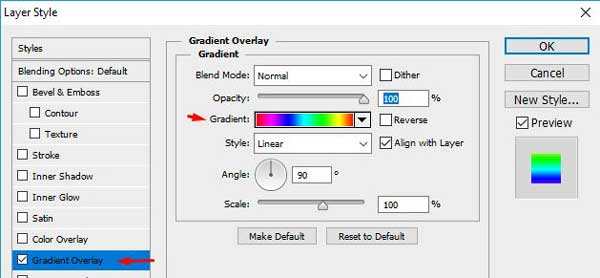 selamat tiba di blog tutorial photoshop lengkap Cara Membuat Efek Teks Warna-warni Dengan Photoshop