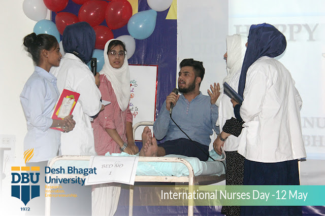 Best Nursing College - Desh Bhagat University