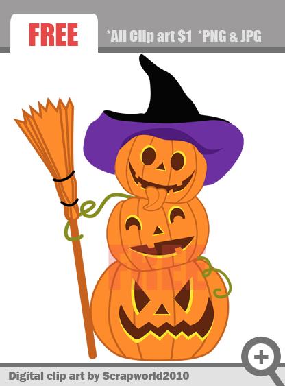 free small halloween clip art - photo #13
