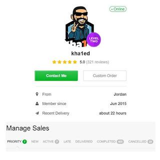 Khaled Zuhair Saif fiverr