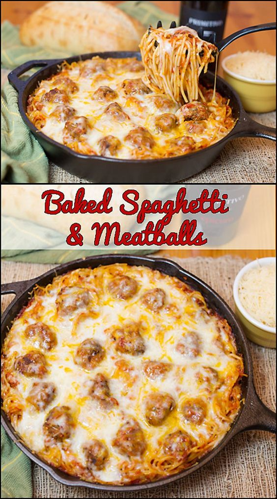 Baked Spaghetti & Meatballs #Baked #Spaghetti #Meatballs   #DESSERTS #HEALTHYFOOD #EASY_RECIPES #DINNER #LAUCH #DELICIOUS #EASY #HOLIDAYS #RECIPE #SPECIAL_DIET #WORLD_CUISINE #CAKE #GRILL #APPETIZERS #HEALTHY_RECIPES #DRINKS #COOKING_METHOD #ITALIAN_RECIPES #MEAT #VEGAN_RECIPES #COOKIES #PASTA #FRUIT #SALAD #SOUP_APPETIZERS #NON_ALCOHOLIC_DRINKS #MEAL_PLANNING #VEGETABLES #SOUP #PASTRY #CHOCOLATE #DAIRY #ALCOHOLIC_DRINKS #BULGUR_SALAD #BAKING #SNACKS #BEEF_RECIPES #MEAT_APPETIZERS #MEXICAN_RECIPES #BREAD #ASIAN_RECIPES #SEAFOOD_APPETIZERS #MUFFINS #BREAKFAST_AND_BRUNCH #CONDIMENTS #CUPCAKES #CHEESE #CHICKEN_RECIPES #PIE #COFFEE #NO_BAKE_DESSERTS #HEALTHY_SNACKS #SEAFOOD #GRAIN #LUNCHES_DINNERS #MEXICAN #QUICK_BREAD #LIQUOR