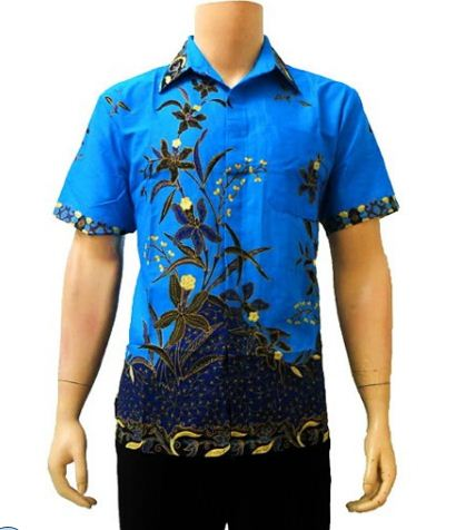 model baju batik pria modis
