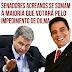 Senadores acreanos se somam à maioria que votará pelo impedimento de Dilma