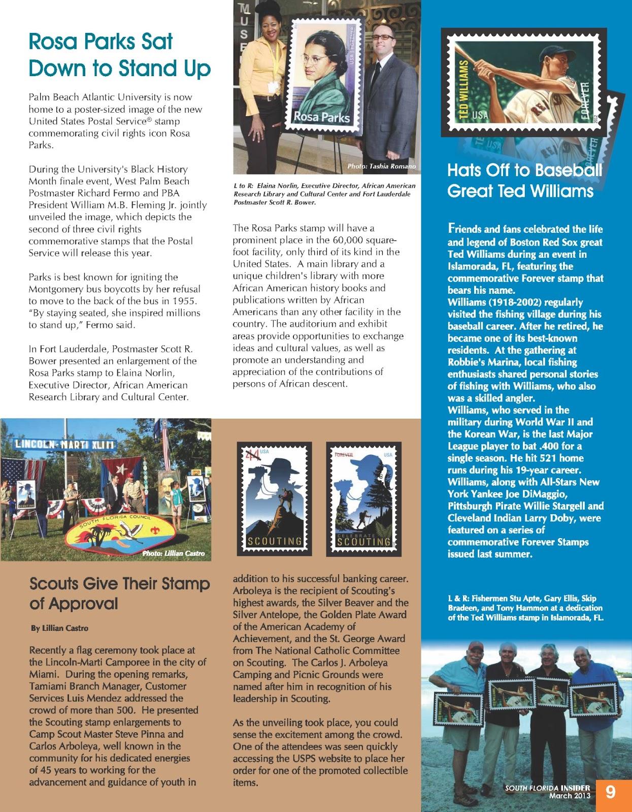 South Florida Postal Blog: April 2013
