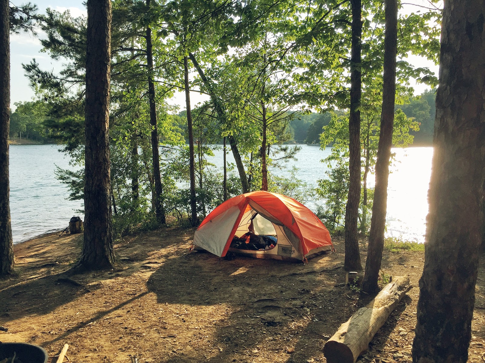 camping, lake keowee, toxaway, state park, south carolina, marmot, tent, trees, ts-3, ts-003