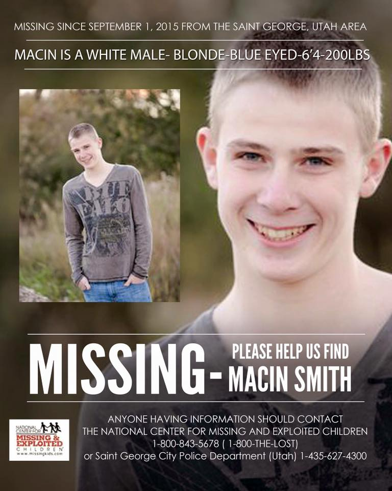 Utah teen may be hitchhiking to Vegas | Missing Persons of