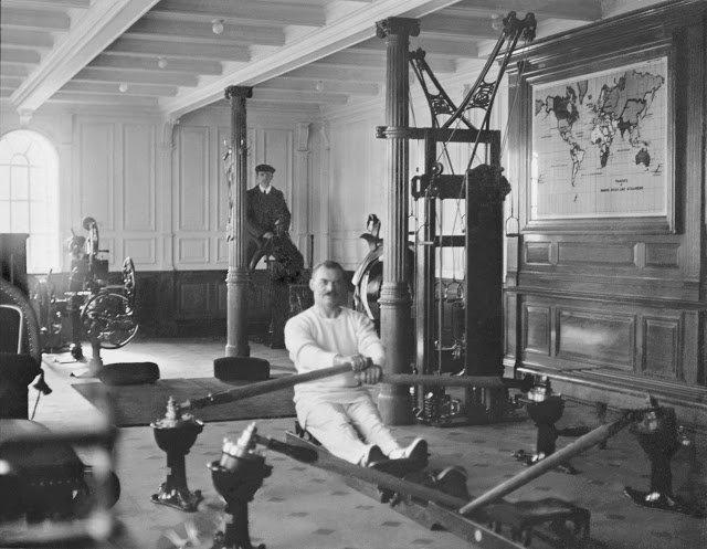 9 уникальных фото «Титаника», сделанных незадолго до его крушения