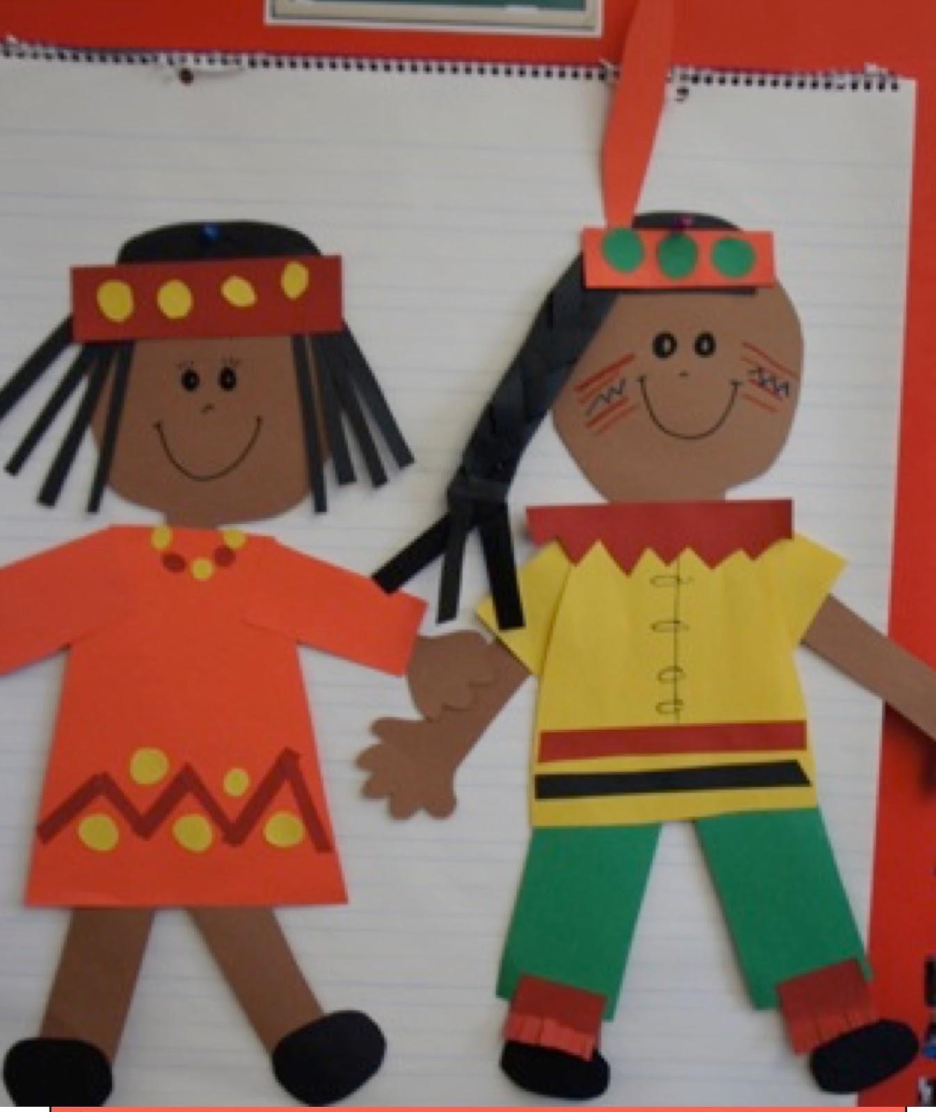 Kindergarten Kiosk Native American Thanksgiving Fun