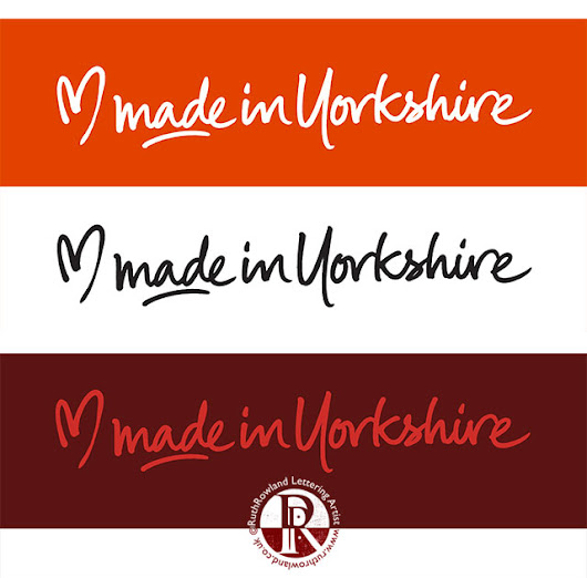 Bespoke Lettering for the Made in Yorkshire Logo