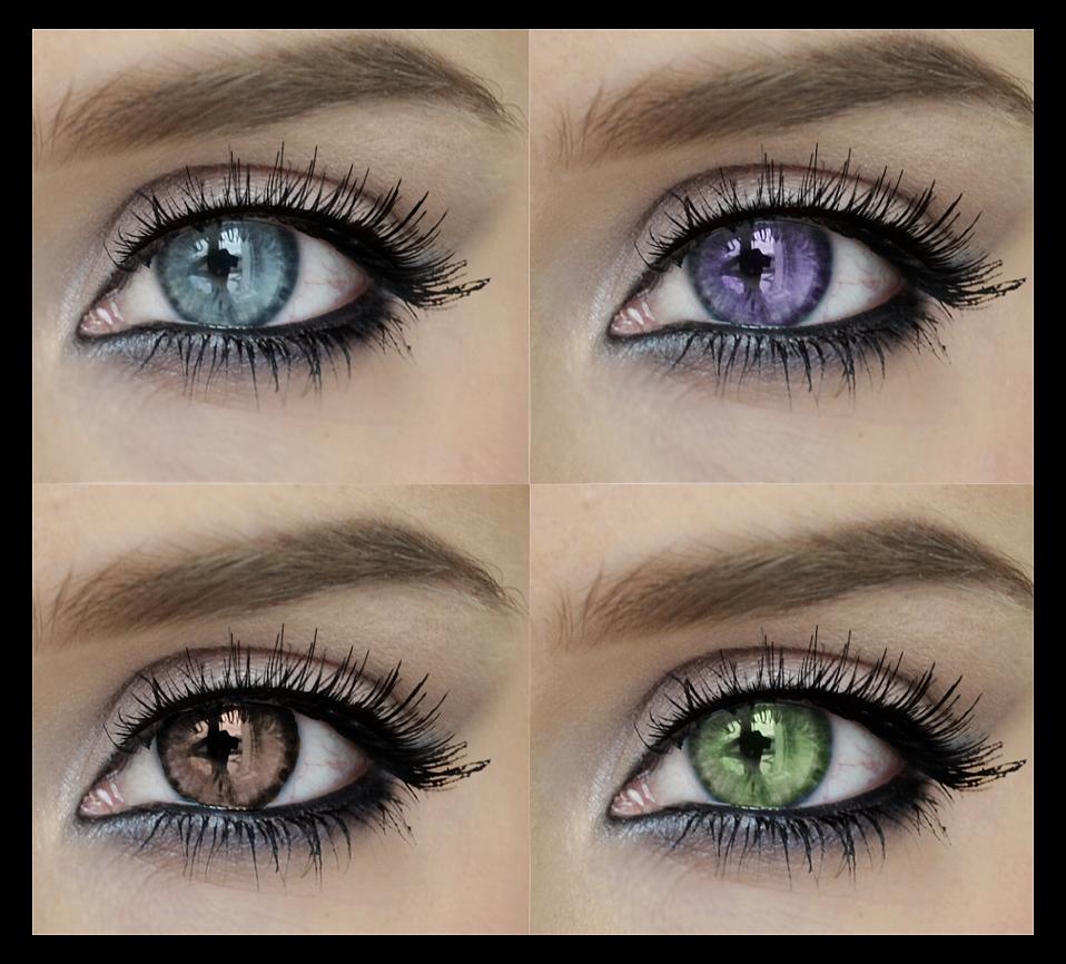Barbie Mutation: Color Wheel Madness  Violet Eyes Mutation