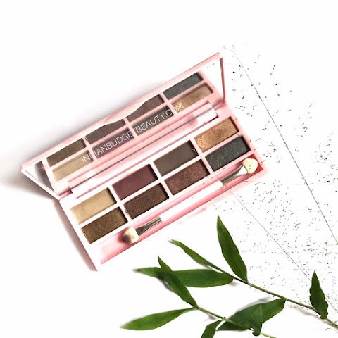 This $5 (Rs.300) Eyeshadow Palette Works Better Than Many Branded Drugstore Palettes | EOTD | Purchase link