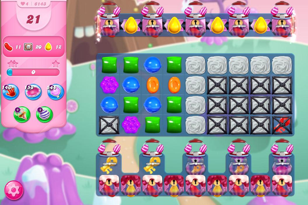 Candy Crush Saga level 6143