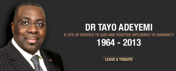 Founder of New Wine Church Dr Tayo Adeyemi dies at 49