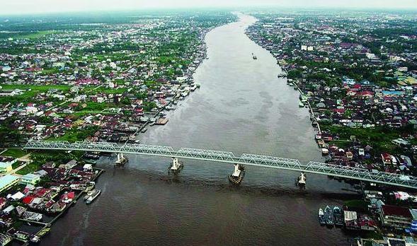 Serunya Menyusuri Sungai Kapuas di Pontianak