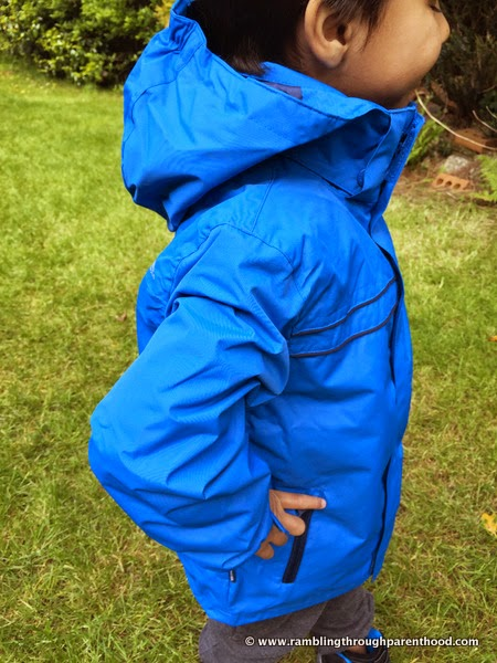 Sulivan Boy's 3 in 1 Waterproof Jacket by Trespass
