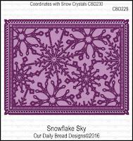 ODBD Custom Snowflake Sky Dies