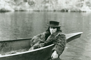 Johnny Depp as William Blake takes a psychedelic boat ride, Dead Man, Directed by Jim Jarsmusch