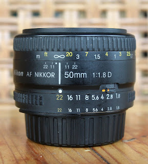 jual nikon fix 50mm f1.8 bekas