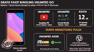 Advan S50 4G Unlimited masa kini