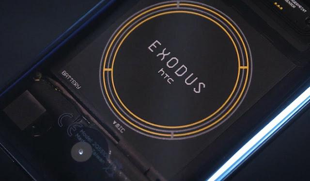 Exodus 1, Smartphone Berbasis Blockchain Pertama Dari HTC