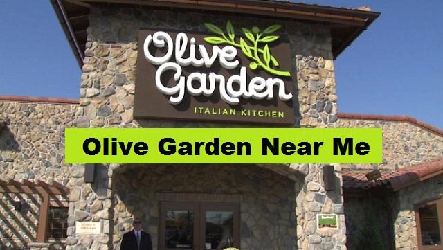 Olive Garden Near Me