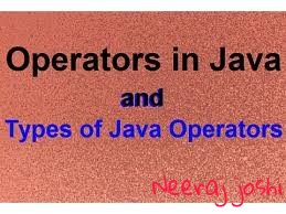 What is operators in java and types of operators in Hindi