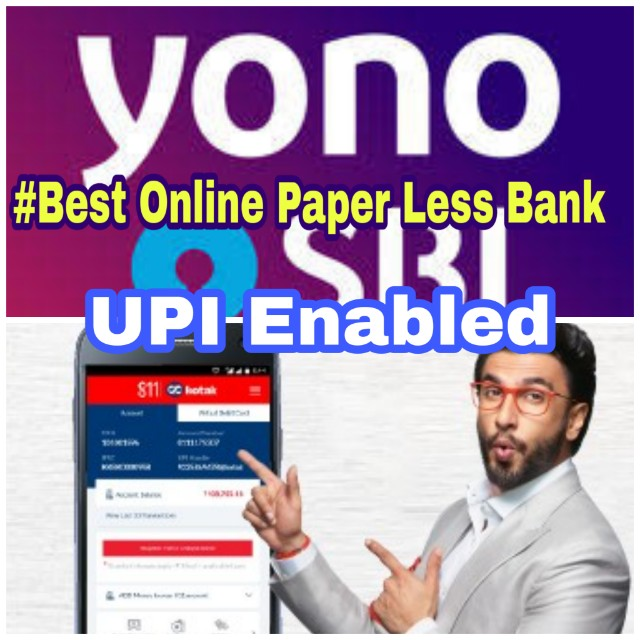 [Full Guide]How to open online bank at home | Best online paperless bank | Sbi Yono and Kotak 811 digital account at your home