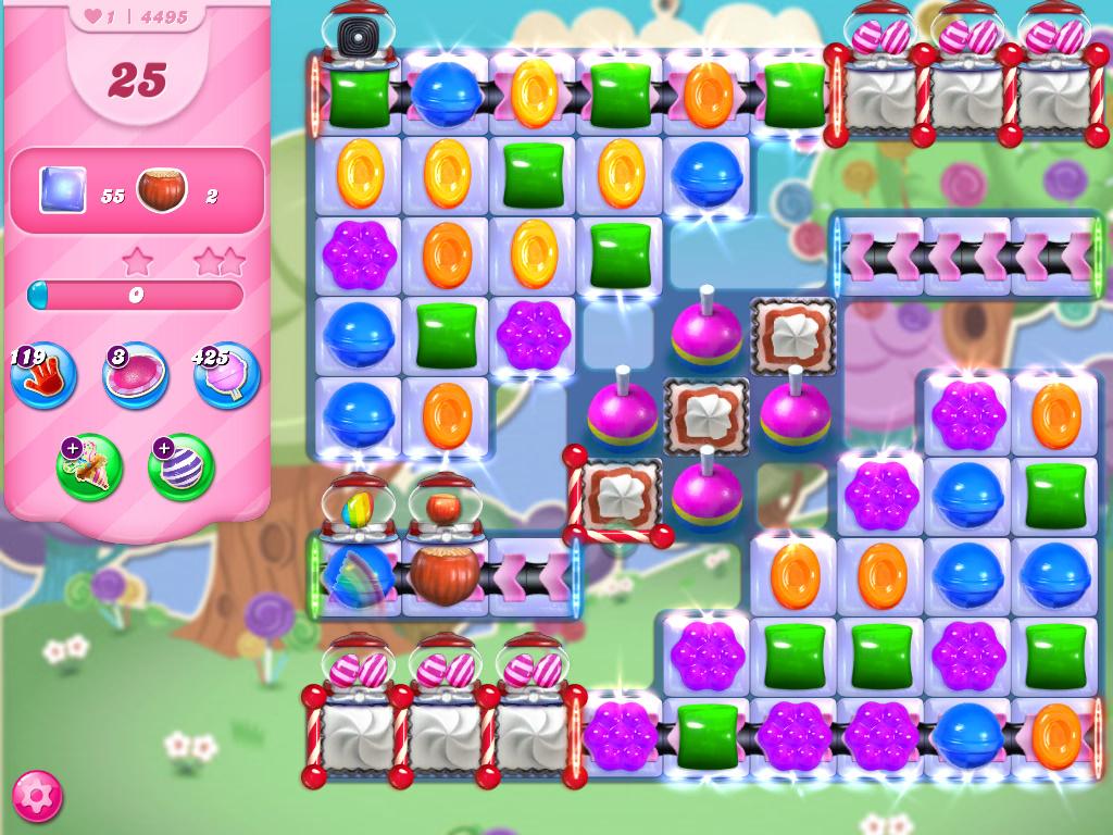 Candy Crush Saga level 4495
