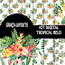 Kit scrap digital Tropical Belo