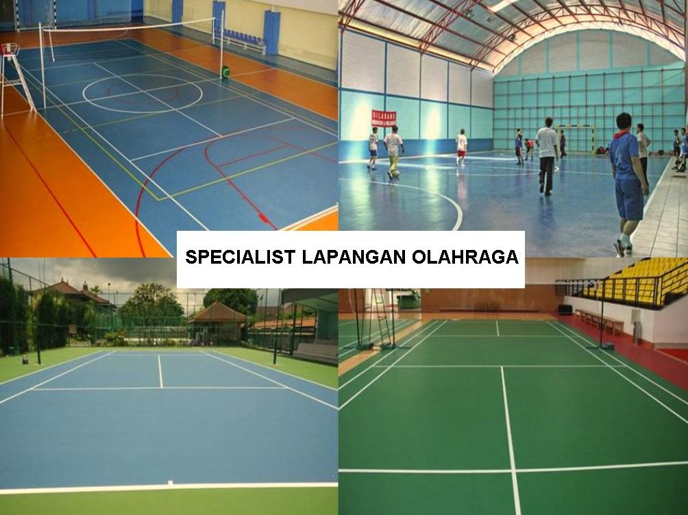 Perincian Biaya Pembuatan Lapangan Futsal, Badminton, Basket, Volley, dan Tenis