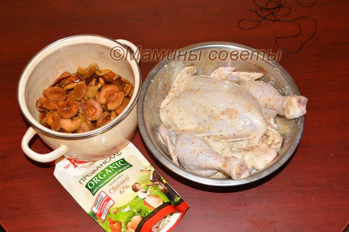 Готовим курицу